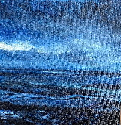 """Irish Sea (12"""" x 12"""")"""