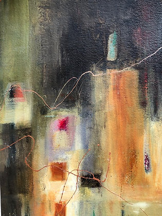 """Candle in the Wind (15"""" x 22.5"""")"""