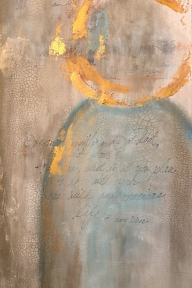 Angel - Inspired by Mary Oliver
