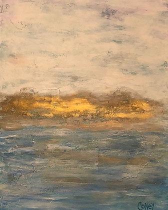 """Cloudy Seas (18"""" x 24"""")"""