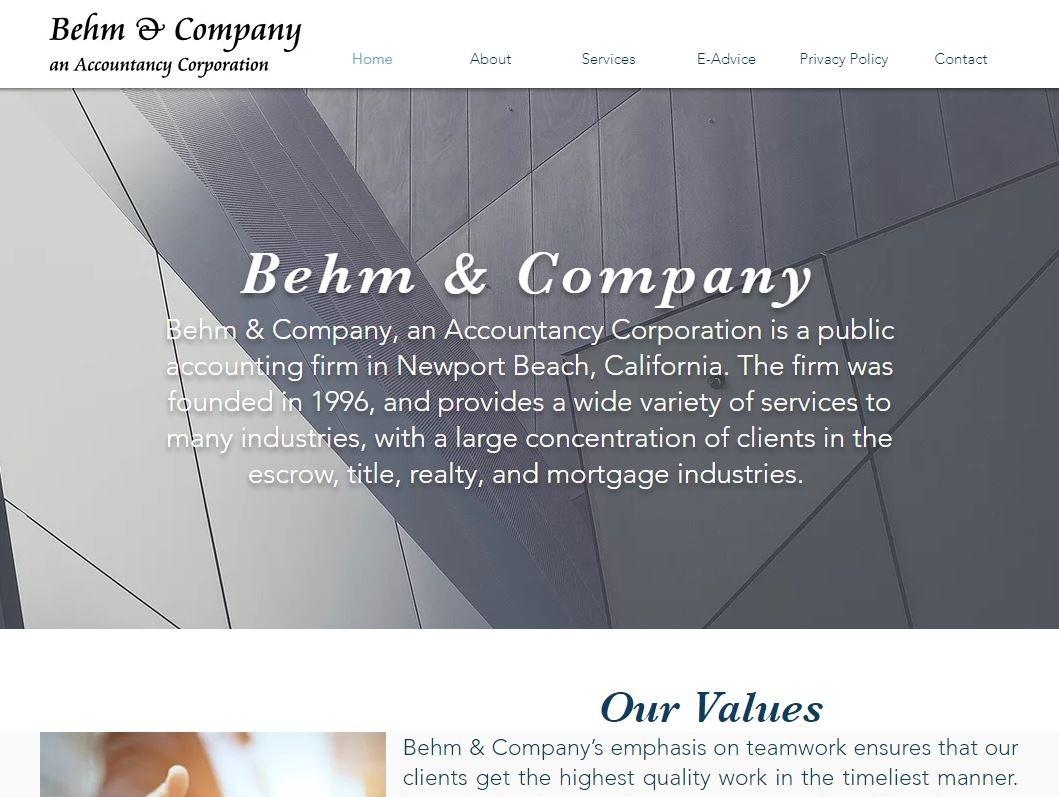 Behm & Company
