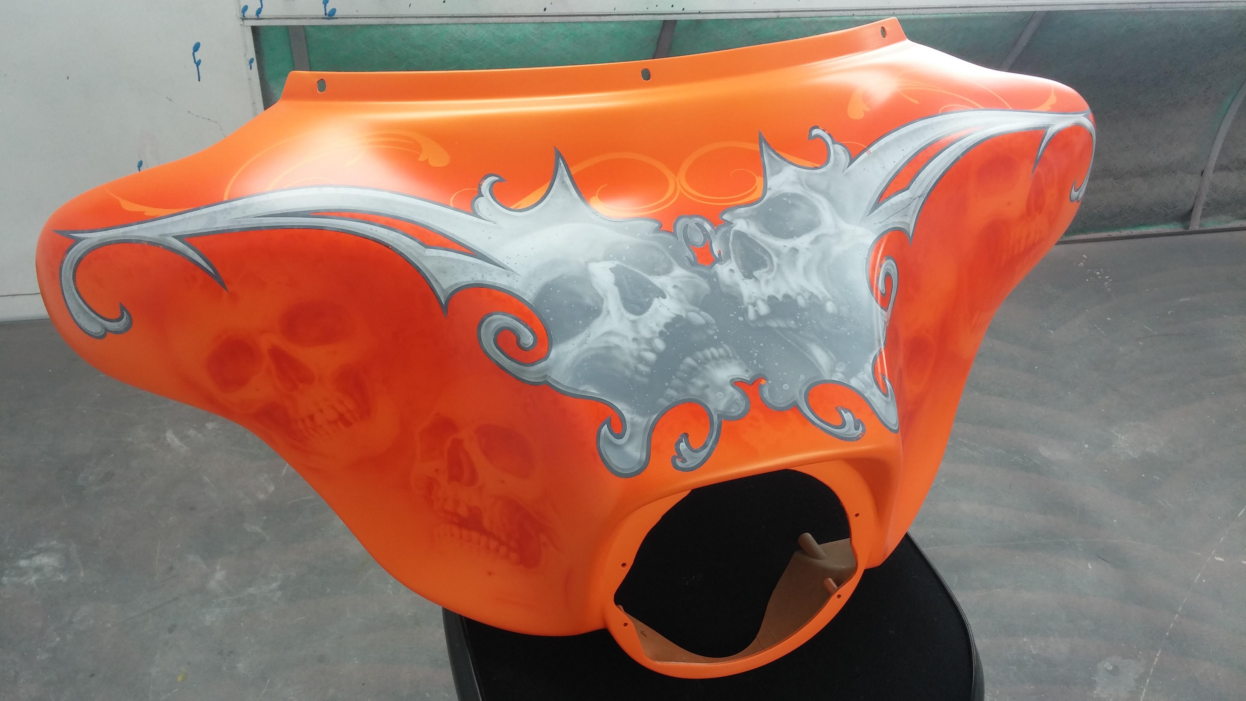 Orange Skull Bagger (3)