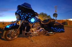 LumiLor Blue Fire Harley 15