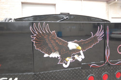 Pinstriped Eagle