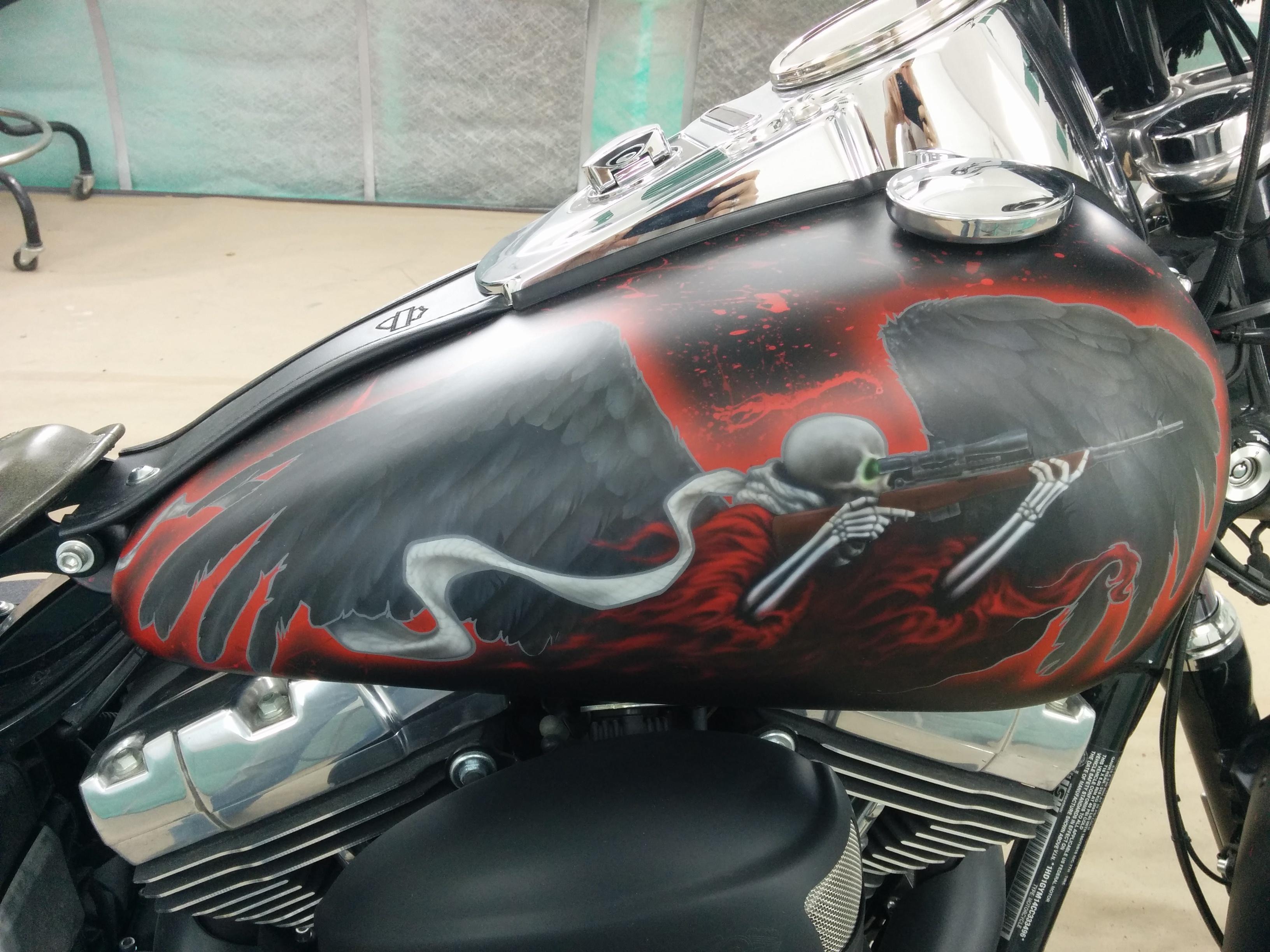 Death Dealer Harley 38