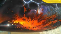 Volcano Custom Paint