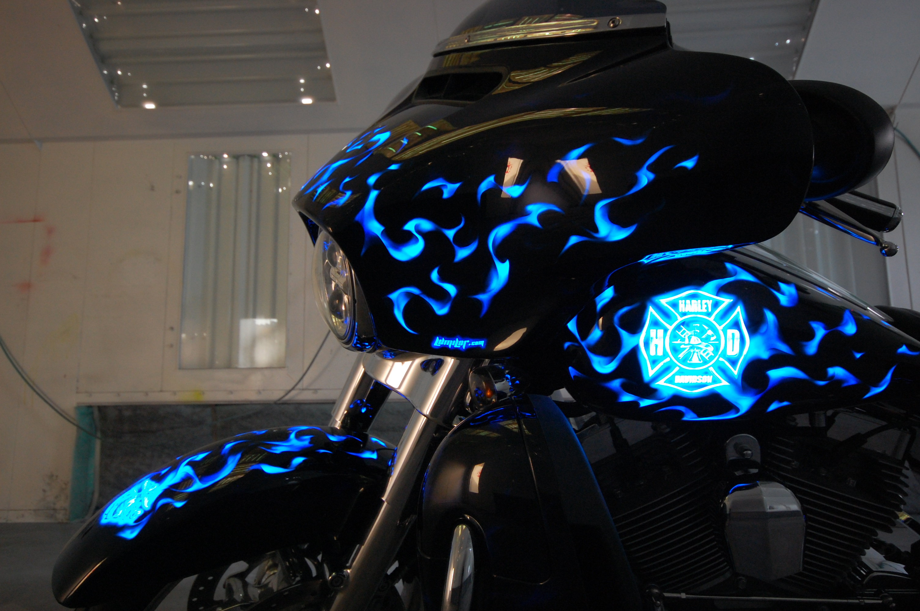 LumiLor Blue Fire Harley 11
