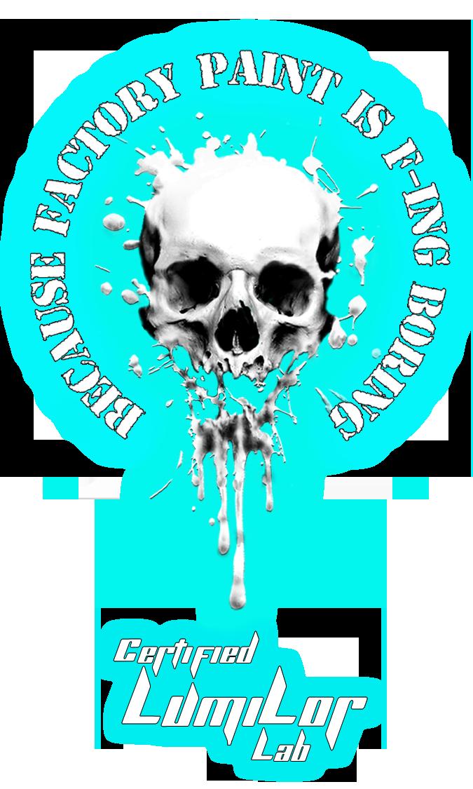 wix skull circle logo