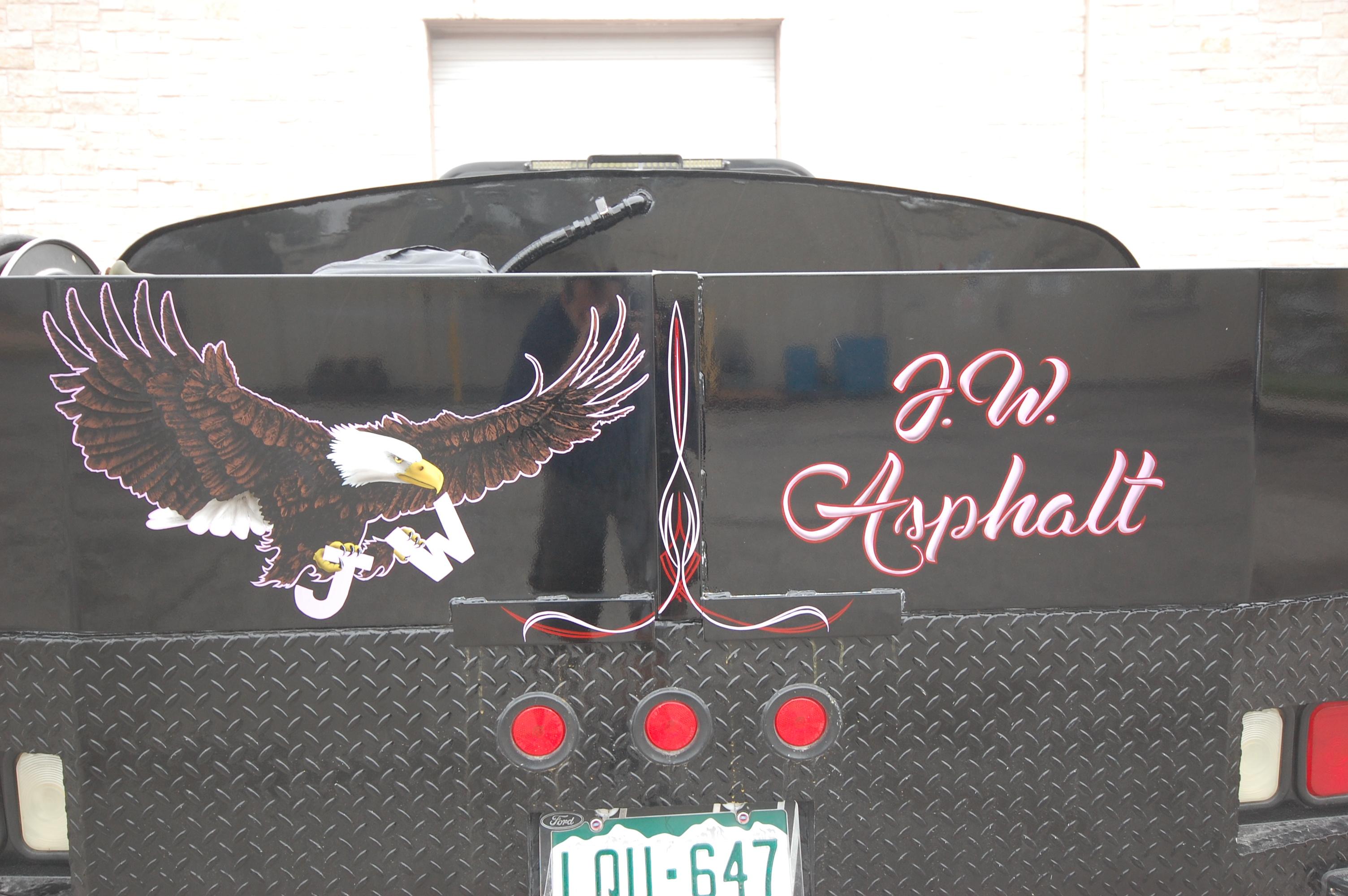 Pinstriped Asphalt Truck (3)