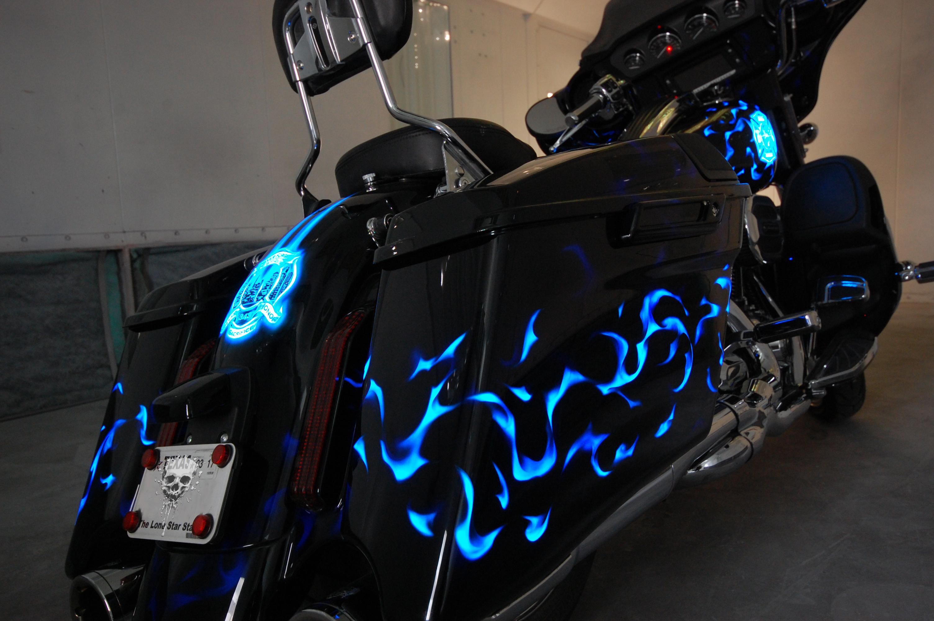 LumiLor Blue Fire Harley 8