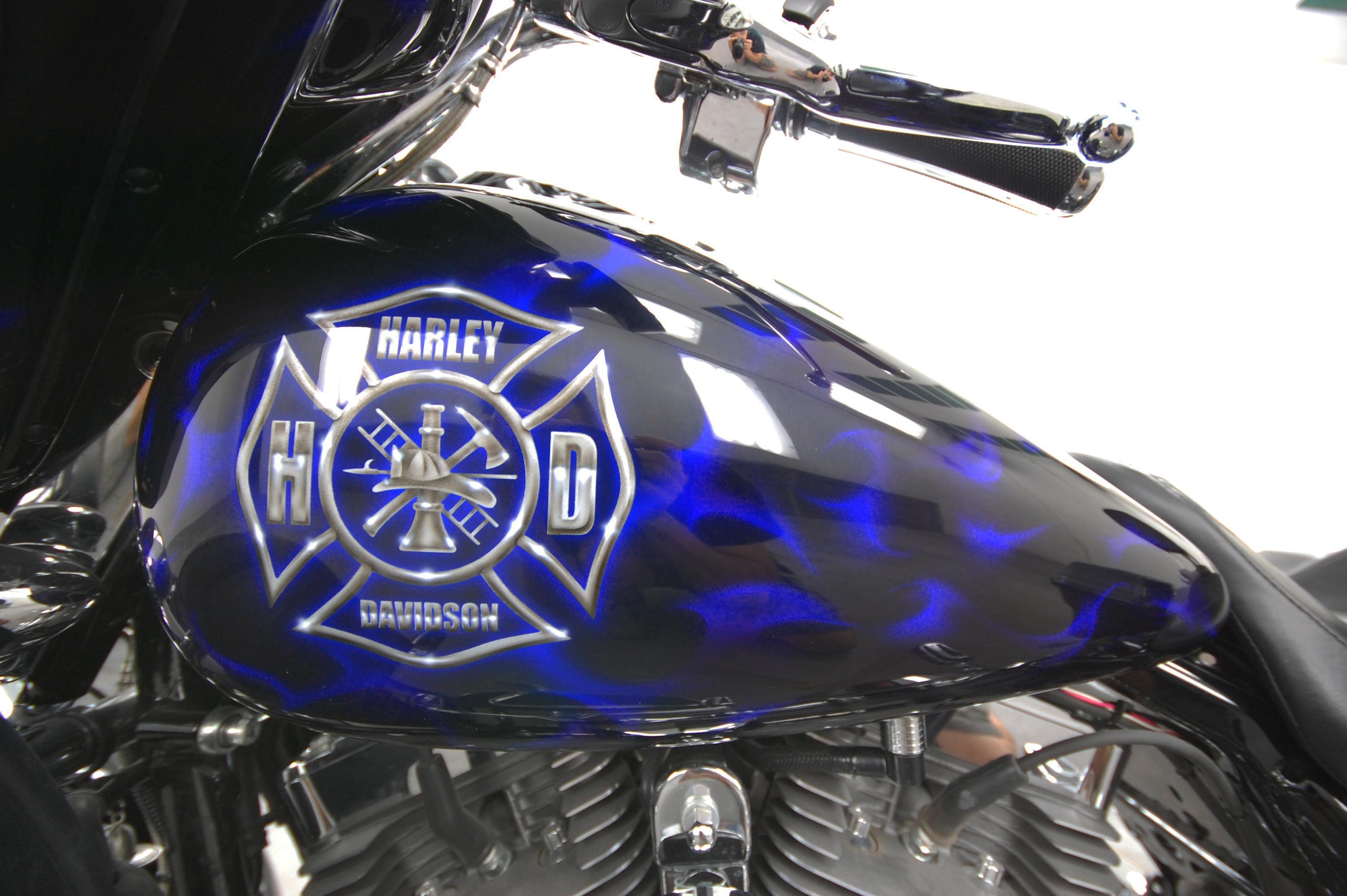 LumiLor Blue Fire Harley 2