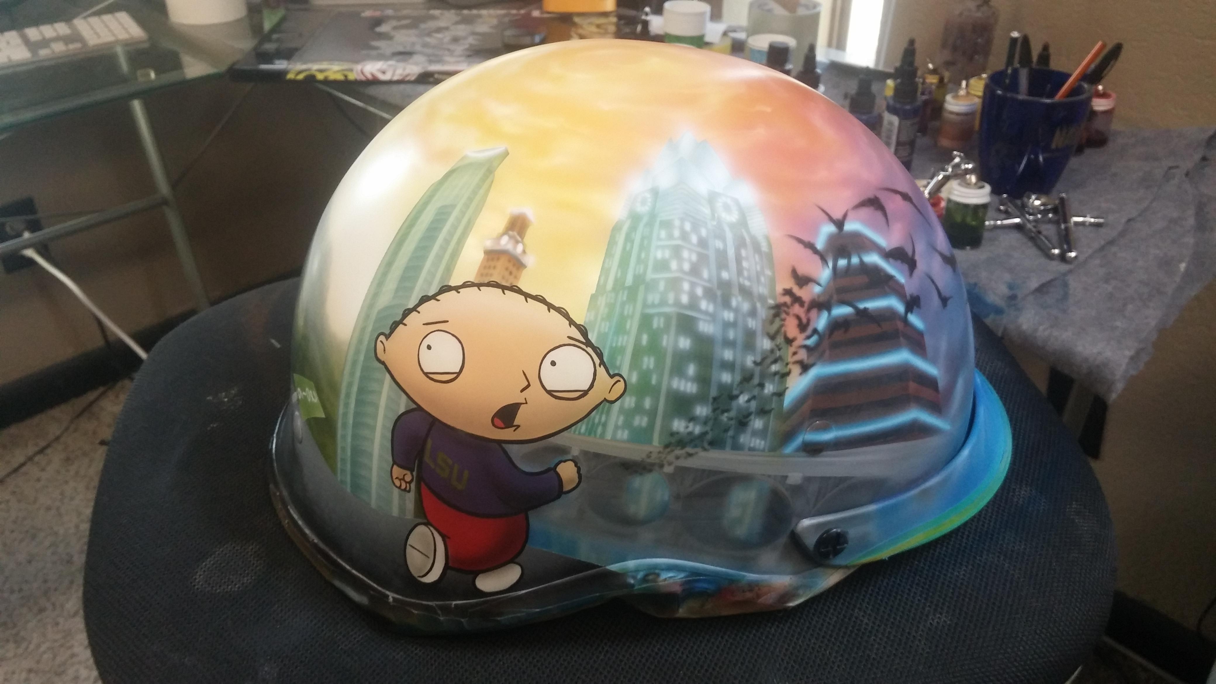 Stewie Helmet