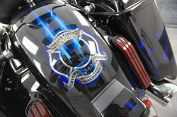 LumiLor Blue Fire Harley 1