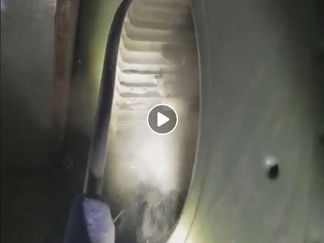 La quantité de poussière dans un ventilateur de fournaise peut être inquiétante