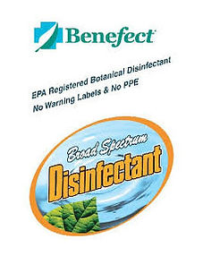Le désinfectnt Benefect san pour améliorer la quaité de l'air produit chimique