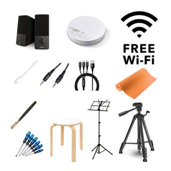 無料WiFi・撮影用三脚レンタルサービスはじめました。