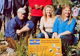 Bushtucker and wildflower garden to raise awareness of our cultural and natural heritage