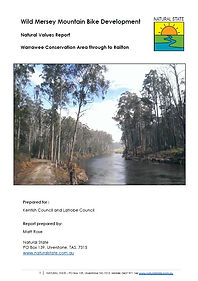 Natural State conservation action planning services