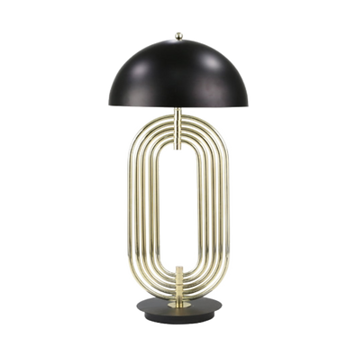 """Metal 28"""" Art Deco Table Lamp"""