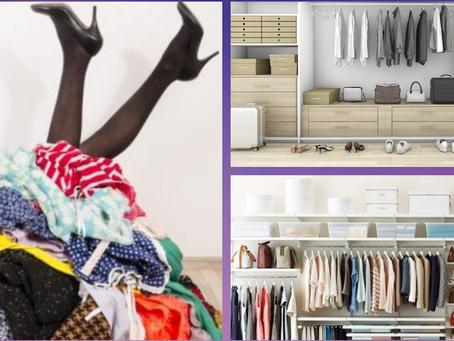 Closet Clutter!  I Get It.