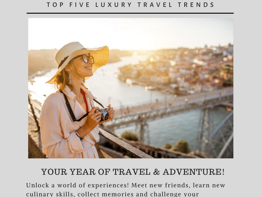 Top Travel Trends for 2020