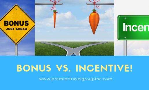 Bonus vs Incentive