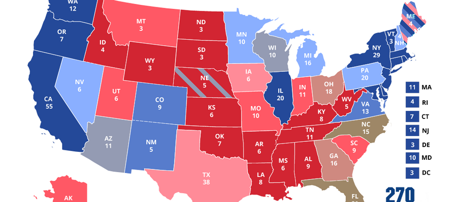 Early July Electoral College Prediction