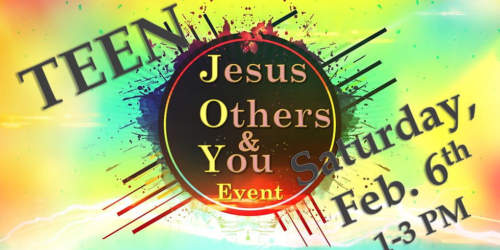 J.O.Y. Teen Event