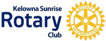 Kelowna Sunrise Rotary Club logo