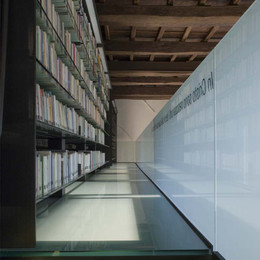 "Sala biblioteca dei ""SS. Quattro Coronati"""