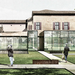 Ampliamento Palazzo Diamanti, Ferrara