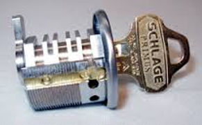 lock re-keyed and master keyed