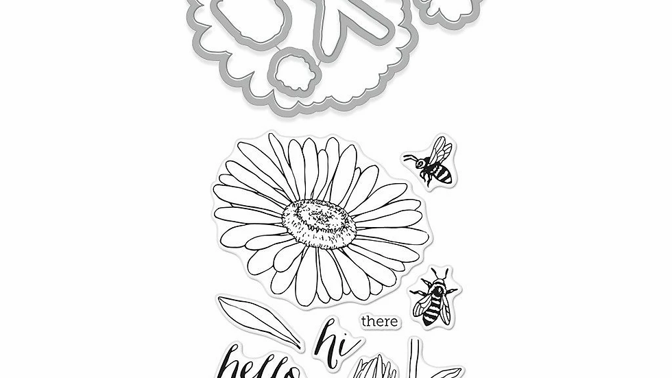 DAISY AND BUGS STAMP & CUT