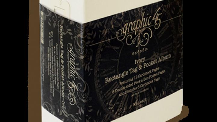 Rectangle Tag & Pocket Album