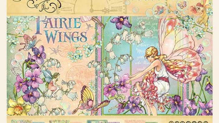 8X8 Fairie Wings