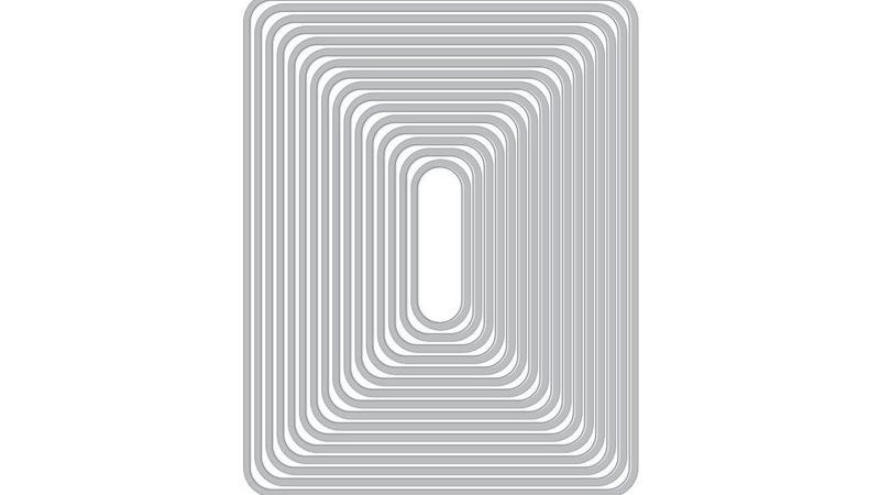 ROUNDED RECTANGLE INFINITY DIES (H)