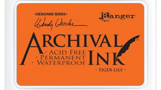 Wendy Vecchi Archival Ink™ Pad Tiger Lily