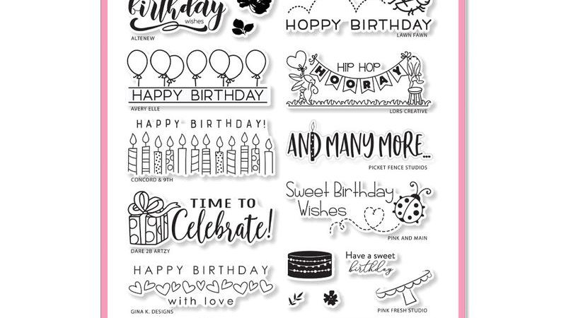 HAPPY BIRTHDAY BY THE STAMPING VILLAGE