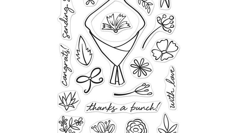 FLOWER BOUQUET PIECES