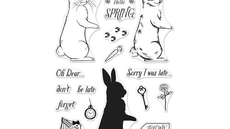Coloring Layering Bunny