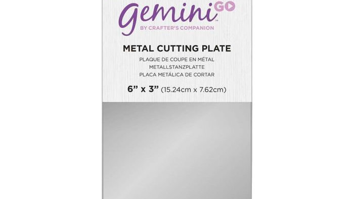 Gemini GO Accessories - Metal Cutting Plate