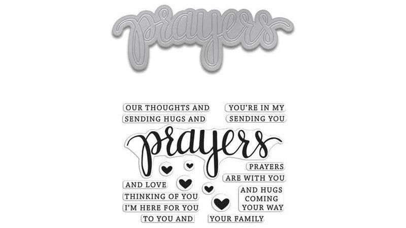 Prayers Stamp & Cut