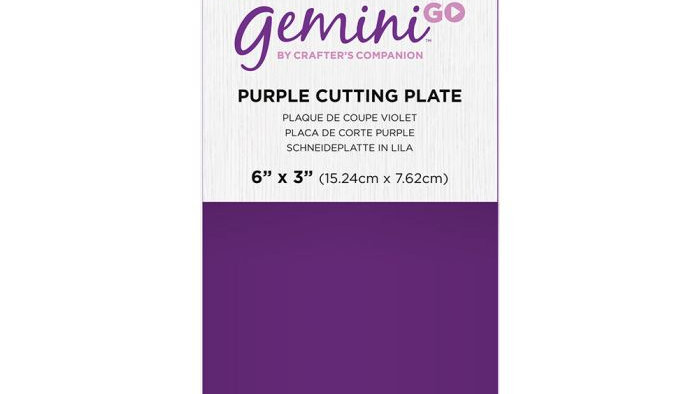 Gemini GO Accessories - Purple Cutting Plate