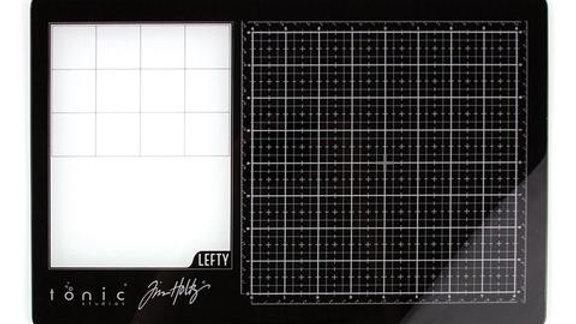 Tim Holtz - Travel Glass Media Mat - Left Handed