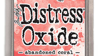 Distress Oxide inks  ABANDONED CORAL