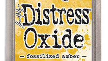 Distress Oxide ink Fossilized Amber