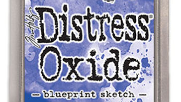 Distress Oxide ink Blueprint Sketch