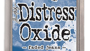 Distress Oxide ink Faded Jeans