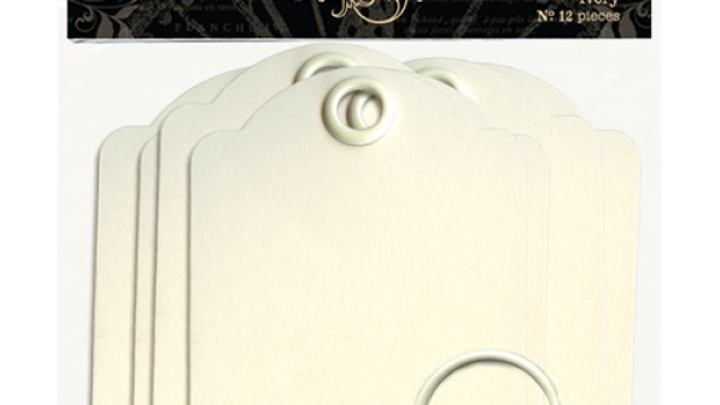 Artist Trading Tags, Ivory