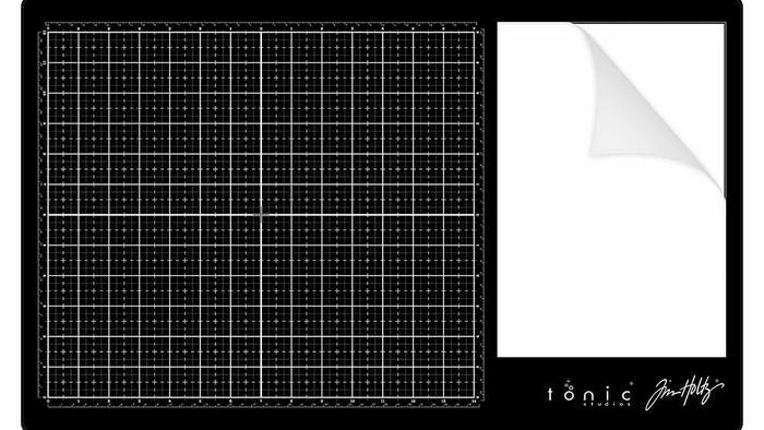 Tim Holtz - Glass Media Mat
